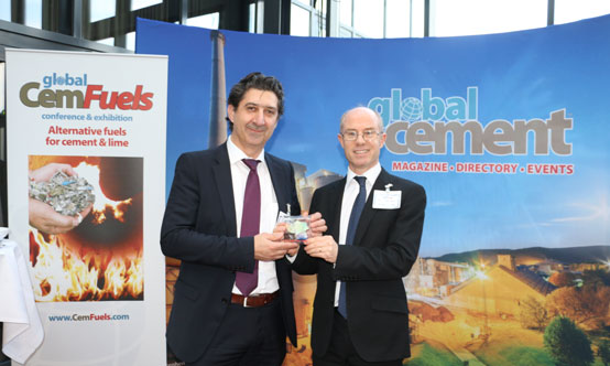 Winner of the prize for best presentation was Luigi Di Matteo of Di Matteo Group